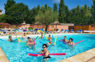 Camping Le Luberon : Mise en forme aquatique