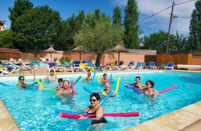 Camping Le Luberon : Aquagym2