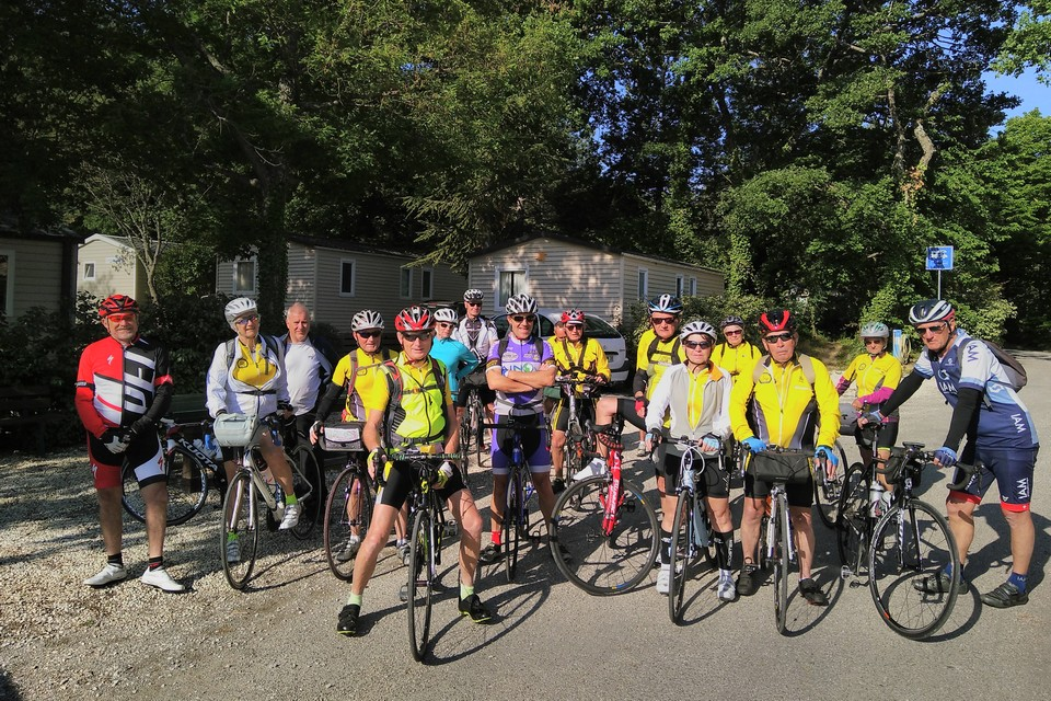Camping Le Luberon : Cyclo Groupe