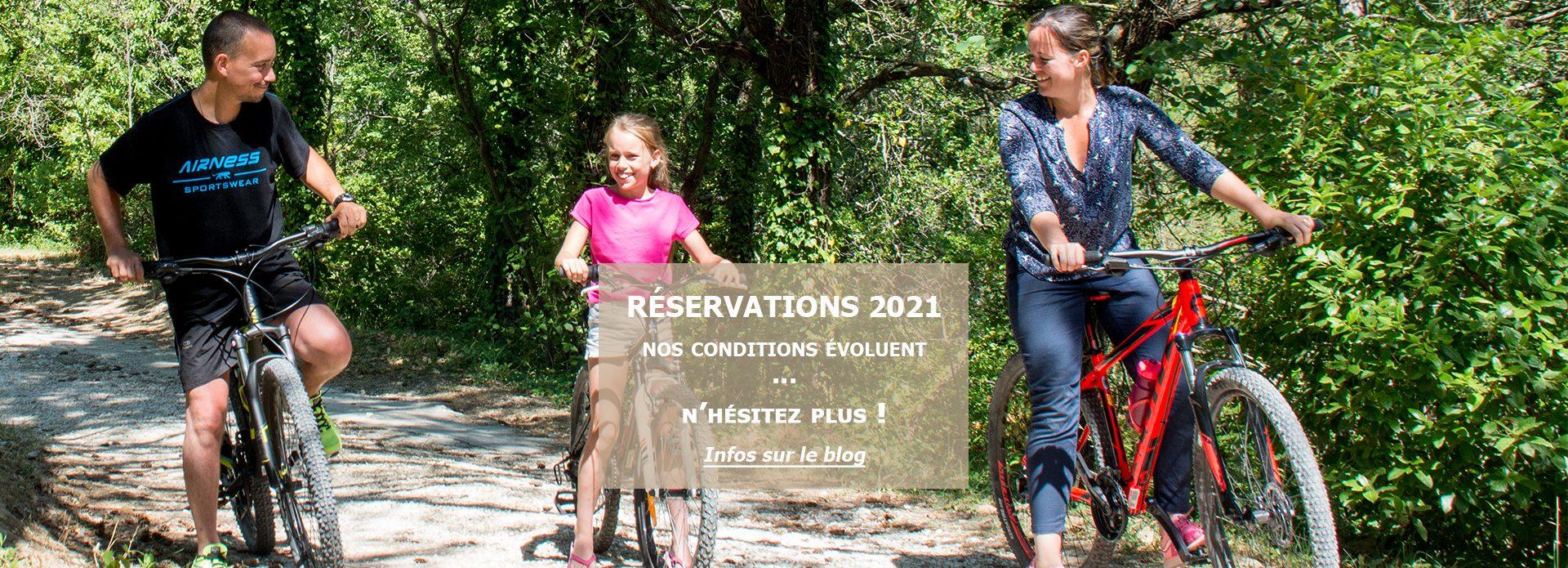 Réservations 2021