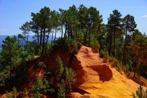 Camping Le Luberon : Roussillon Sentier Des Ocres