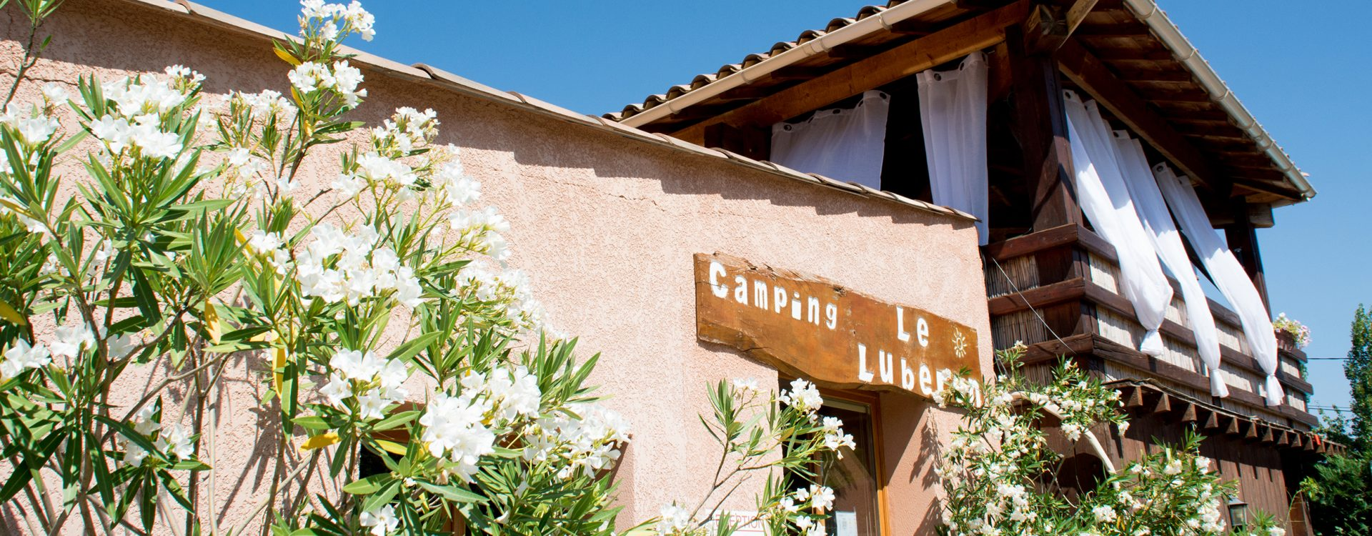 Accueil Camping Le Luberon
