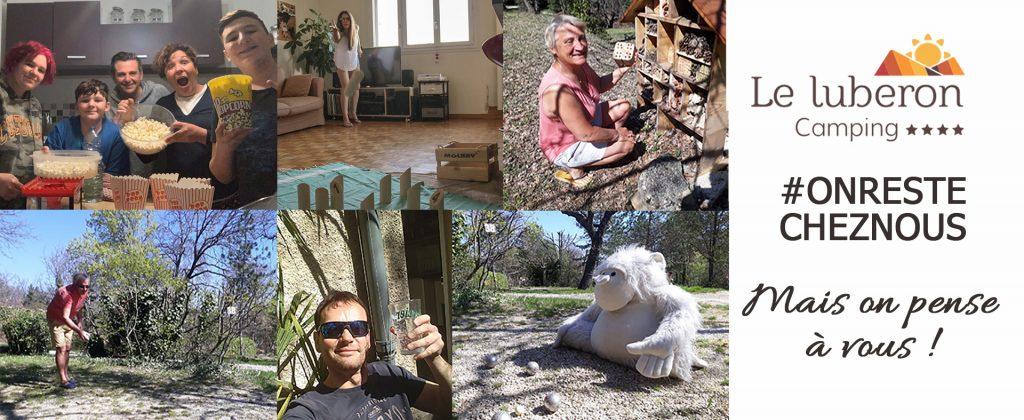 Camping Le Luberon : Visuelconfinementsite